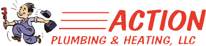 Action Plumbing and Heating, LLC. Logo